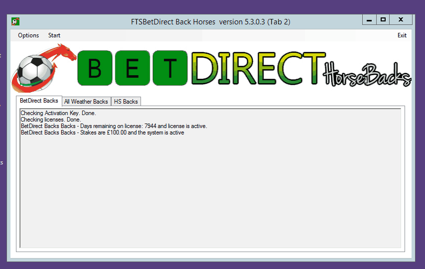 FTS Bet Direct Client Betting